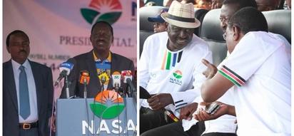 Raila to meet NASA leaders amid crisis a few days to planned inauguration