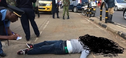 The ANGRY last words of the Kenyan man shot dead at the Kenyan US Embassy