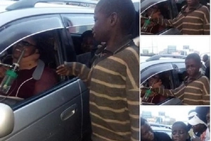 Kenyans donate these millions for SICK woman who made a street child break down