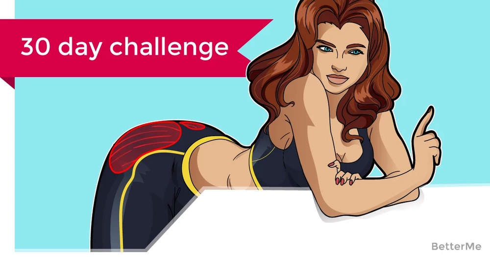 30-day squat challenge workout for a good butt