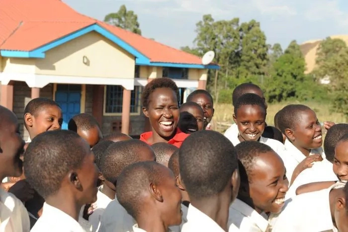 Girl, 7, who agreed with dad to undergo FGM after finishing education sets up ground-breaking school in Kenya (photos)