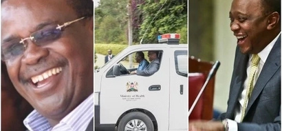 Kidero rides with Uhuru Kenyatta in an Ambulance and Kenyans erupt