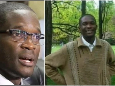 IEBC CEO Ezra Chiloba was once a struggling Kenyan before ladies started drooling over him (Photos)