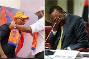 Joho's running mate already on President Uhuru Kenyatta's neck barely a day after being unveiled
