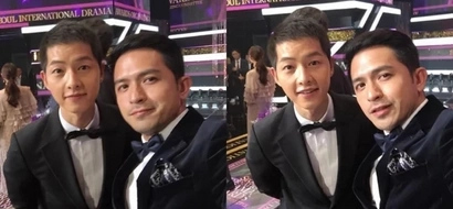 Dennis Trillo wins award and takes selfie with Song Joong Ki!