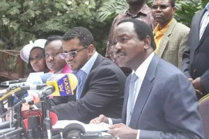 Wiper leaders want Kalonzo to run for president instead of Raila