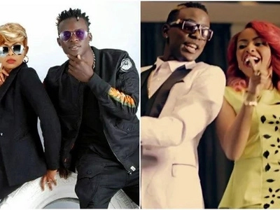 Willy Paul posts CUTE photo but some Kenyans are not happy with him