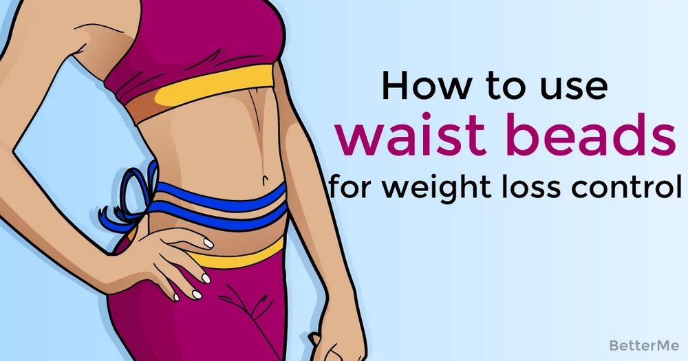 How to use waist beads for weight loss control