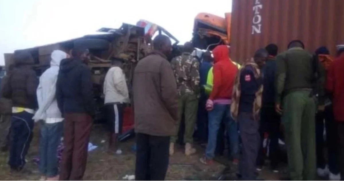Sad! Mother of four who lost husband, two children in Migaa road accident hopes the other two survive