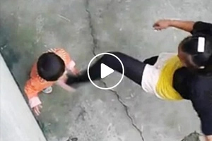 Nakakagalit! Chinese stepmum brutally beats innocent baby for this simple reason