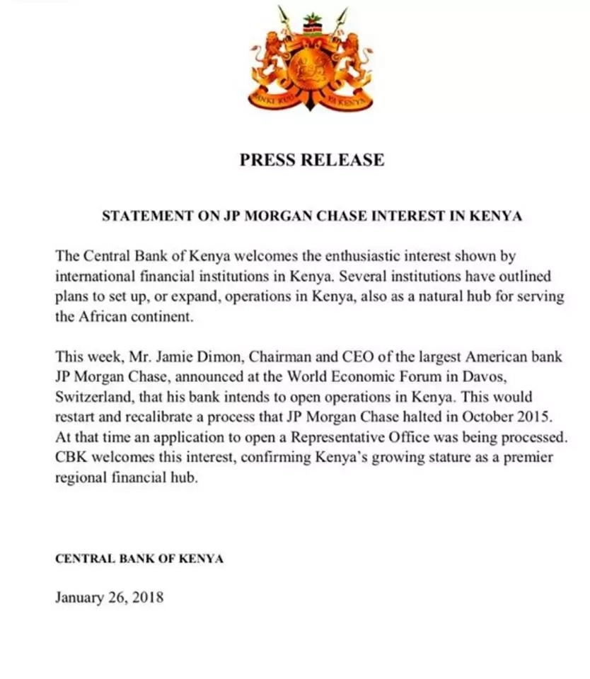 American bank accused by Raila of hiding Eurobond money to start operations in Kenya
