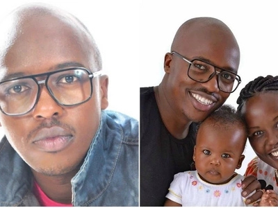 Banjuka hitmaker DNA introduces his cute wife and two daughters (Photos)