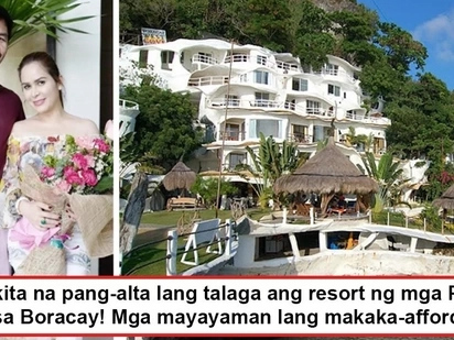 Sobrang dami na ng ari-arian nila! Manny and Jinkee Pacquiao show off their grand Boracay resort fit for members of the 'high' society