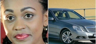 Beautiful KTN anchor gets her COSTLY Mercedes Benz stolen right at her place of work
