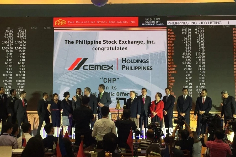 PSE welcomes Cemex Holdings Philippines Inc.