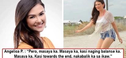 Pretend pa more! Angelica Panganiban posts about how happy she is much to the dismay of fans, 'Kailangan pagdikdikan masaya siya'