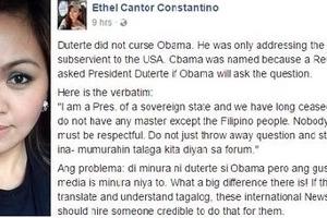 Netizen blames int'l media for poorly translating Duterte's expletives