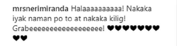 Kahanga -hanga naman talaga ang asawa ni Pareng Chito! Sharon Cuneta admits that she's a fan of 'wais na misis' Neri Naig-Miranda
