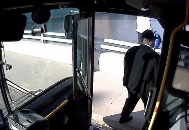 Bus driver stops woman from committing suicide