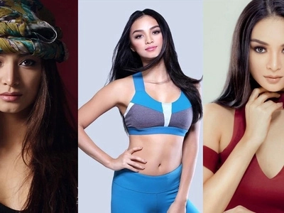 Miss International Kylie Verzosa does her own hair and makeup for a beauty magazine and it's extremely stunning!