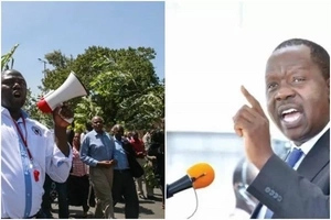 After Uhuru ordered doctors back to work, Matiang'i also goes HARD on striking lecturers
