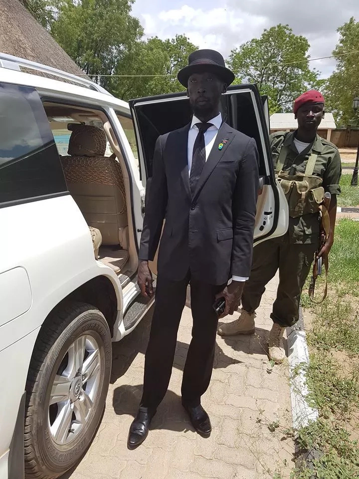 Photos: Mabior Garang kicked out of S.Sudan cabinet meeting