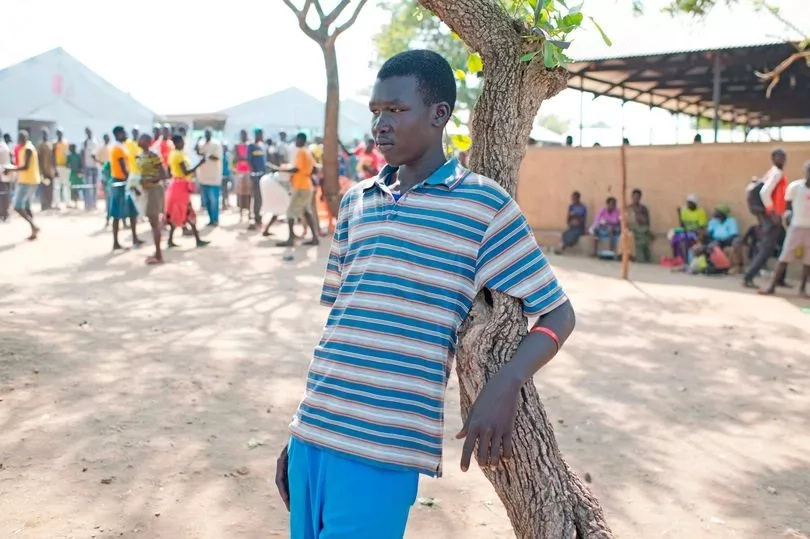 Sudanese boy, 15, narrates how gunmen brutally murdered his parents, butchered neighbors