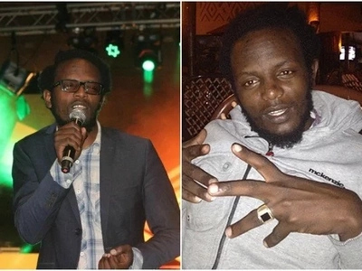 Meet Churchill Show's comedian Professor Hamo away from the screen (photos)