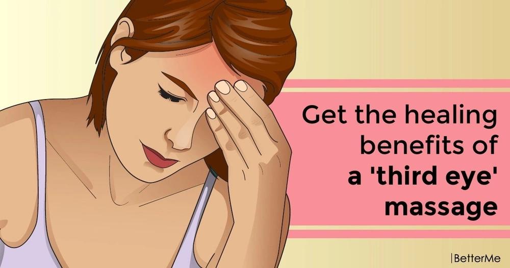 Get the healing benefits of a 'third eye' massage