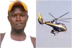 Meru 'James Bond' who hang on Raila's chopper receives EXCITING news