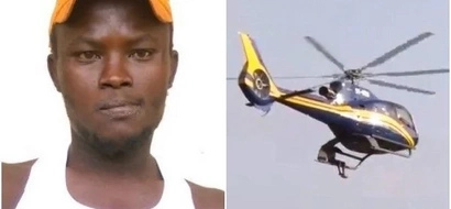 Meru 'James Bond' who hang on Raila's chopper finally gets what he wanted from him