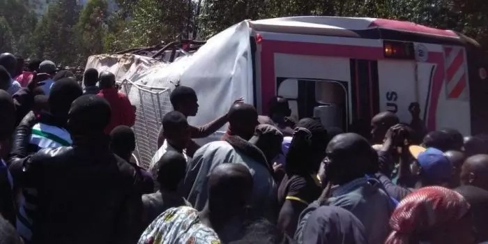Four killed in accident involving St. Mary's Nyamagwa Girls school bus