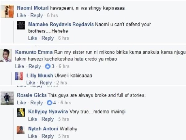 Kenyan ladies mercilessly expose Kisii men on Facebook