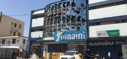 Seven people arrested over looting at Tumaini Supermarket in Kisumu during the anti IEBC protests