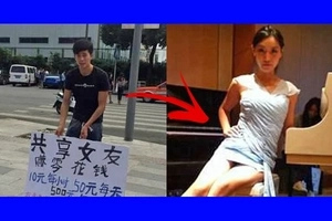 Chinese man offers 'Girlfriend for Rent' service to the public. What he will spend his earnings on will shock you