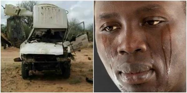 Majina ya maafisa wa utawala wa polisi waliouawa baada ya gari walimokuwa wakisafiri kulipuka kaunti ya Garissa