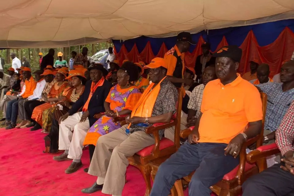 Raila Odinga's superstar arrival in Mombasa ahead of ODM celebrations