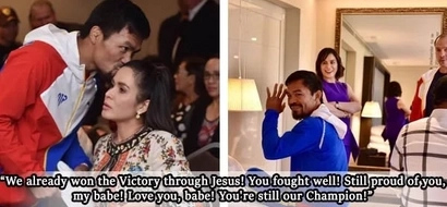 Ang sweet! Manny Pacquiao Receives An Encouraging And Heartfelt Message From His Biggest Fan – Wife Jinkee Pacquiao!