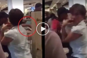 Huli sa akto! Vigilant netizen catches sneak thief stealing expensive smartphone in a mall