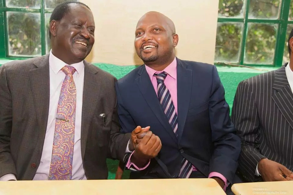 Raila is the sole reason for drought- vocal Jubilee MP claims