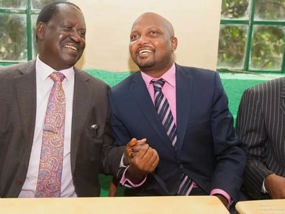 Gatundu South MP Moses Kuria vows to drag NASA leader Raila Odinga to court for treason