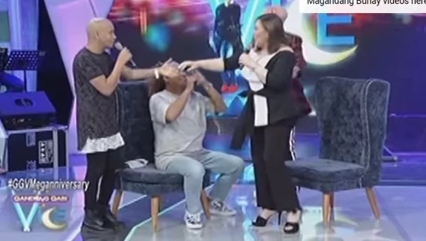 Sharon Cuneta shows off her flexible legs on GGV