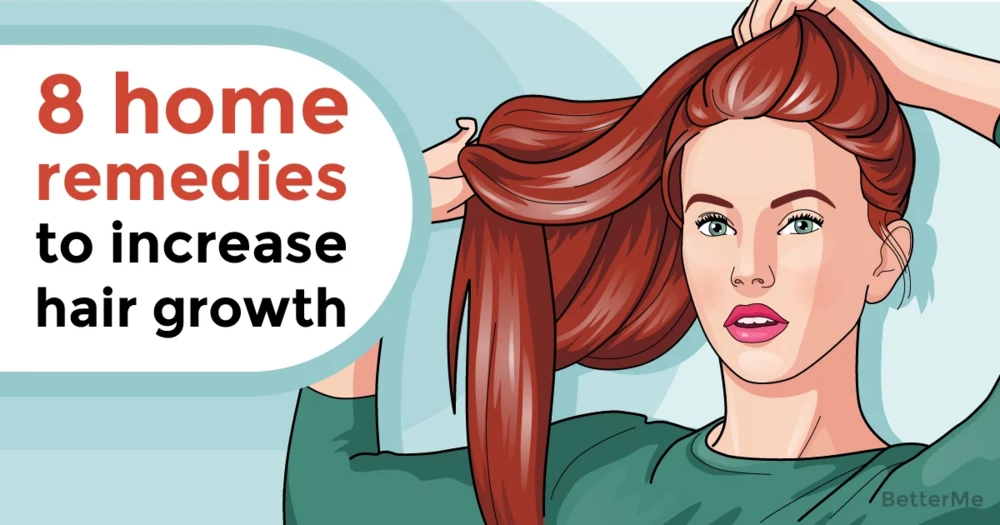 8 effective home remedies to increase the growth of hair