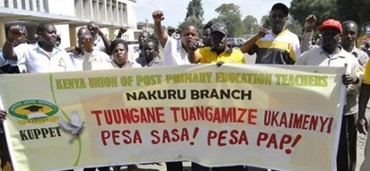 Teachers issue strike notice a week to school opening and TUKO.co.ke has the details