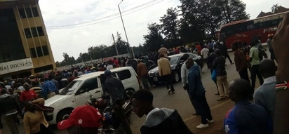 One person shot dead by police in Ahero as youth protest arrest of Miguna Miguna