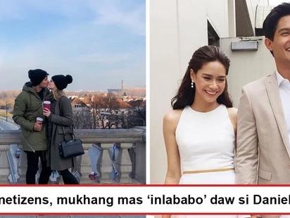 Mas 'inlababo' daw siya ngayon? Netizens notice how Daniel Matsunaga looks giddily happy with Karolina Pisarek than 'past relationships'