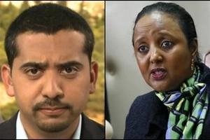 Al Jazeera journalist who fried Raila goes for Amina Mohamed and it's fireworks (video)