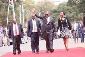 Susan Mboya glad to have her husband, Evans Kidero, back from his 'mistress' clutches