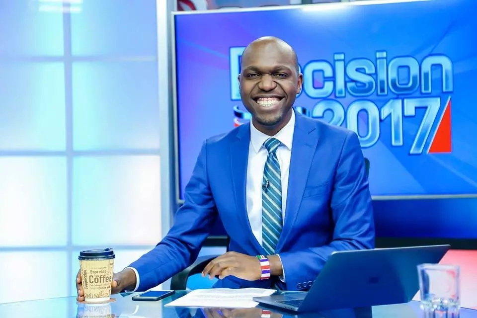 Raila Odinga's son jumps to Larry Madowo's defence after he was summoned by DCI