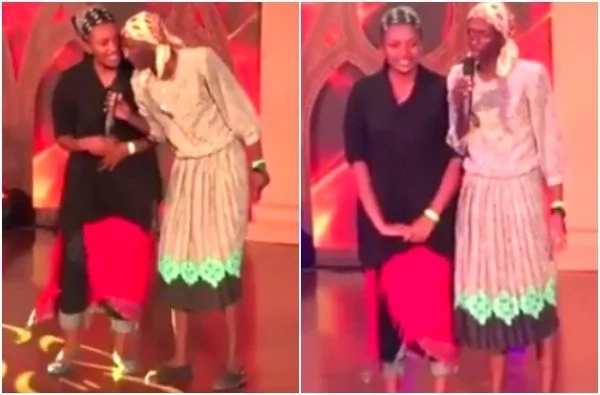 This is how Njugush made Christians laugh at the Groove Awards Nominations